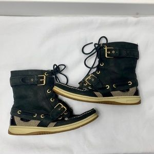 SPERRY || Top-Sider Boots in Navy